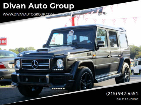1992 Mercedes-Benz G-Class for sale at Divan Auto Group in Feasterville Trevose PA