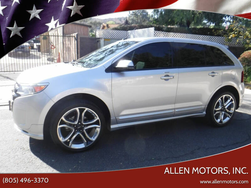 2012 Ford Edge for sale at Allen Motors, Inc. in Thousand Oaks CA
