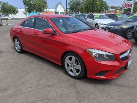 2015 Mercedes-Benz CLA for sale at Convoy Motors LLC in National City CA