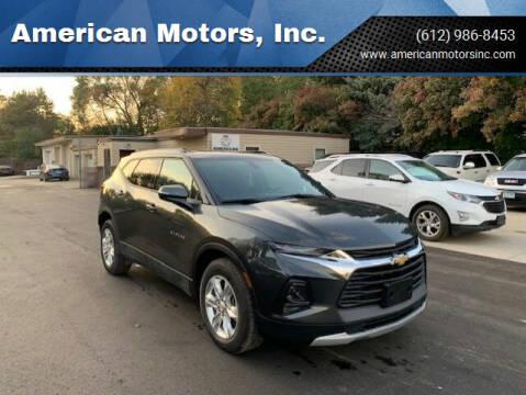 2019 Chevrolet Blazer for sale at American Motors, Inc. in Farmington MN