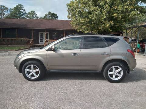 2004 Nissan Murano for sale at Victory Motor Company in Conroe TX