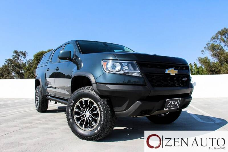 2017 Chevrolet Colorado for sale at Zen Auto Sales in Sacramento CA