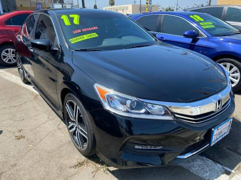 2017 Honda Accord for sale at CAR GENERATION CENTER, INC. in Los Angeles CA