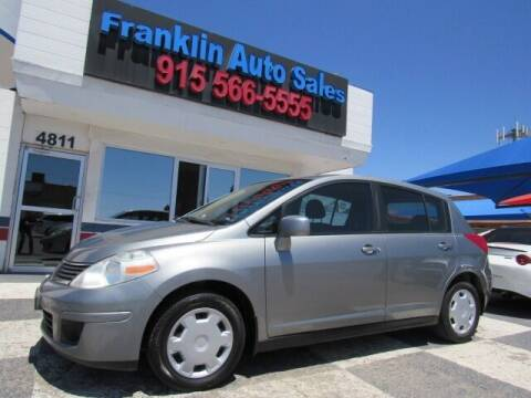2007 Nissan Versa for sale at Franklin Auto Sales in El Paso TX