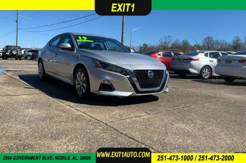 2019 Nissan Altima for sale at Exit 1 Auto in Mobile AL