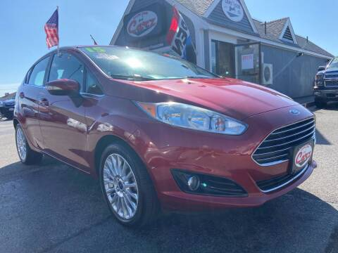 2015 Ford Fiesta for sale at Cape Cod Carz in Hyannis MA