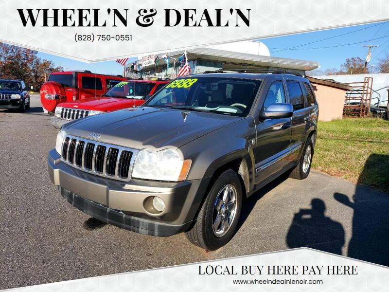 2005 Jeep Grand Cherokee for sale at Wheel'n & Deal'n in Lenoir NC