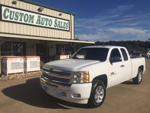2009 Chevrolet Silverado 1500 for sale at Custom Auto Sales - AUTOS in Longview TX