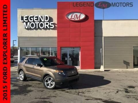2015 Ford Explorer for sale at Legend Motors of Detroit - Legend Motors of Ferndale in Ferndale MI