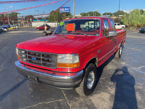 1993 Ford F-150 for sale at IMPALA MOTORS in Memphis TN
