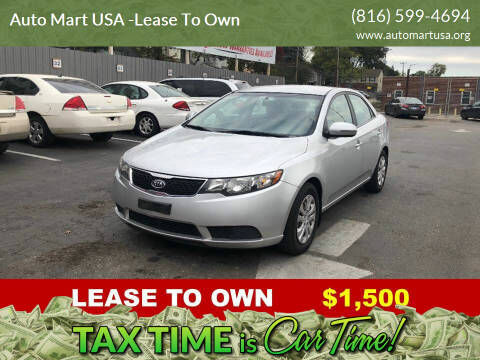 2013 Kia Forte for sale at Auto Mart USA -Lease To Own in Kansas City MO