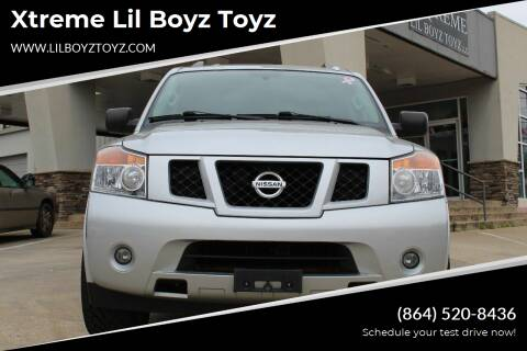 2015 Nissan Armada for sale at Xtreme Lil Boyz Toyz in Greenville SC