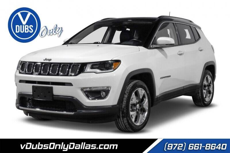 2018 Jeep Compass for sale at VDUBS ONLY in Dallas TX
