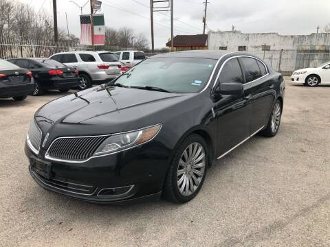 2013 Lincoln MKS for sale at Saipan Auto Sales in Houston TX