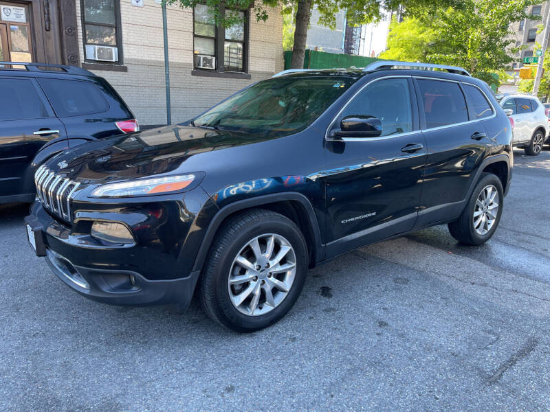 2014 Jeep Cherokee for sale at Gallery Auto Sales in Bronx NY