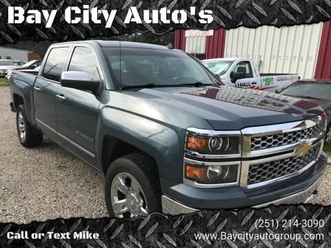 2014 Chevrolet Silverado 1500 for sale at Bay City Auto's in Mobile AL