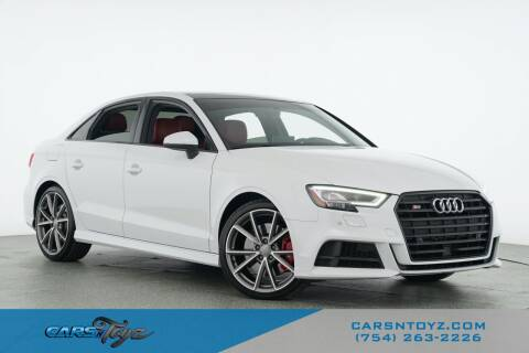 2018 Audi S3 for sale at JumboAutoGroup.com - Carsntoyz.com in Hollywood FL