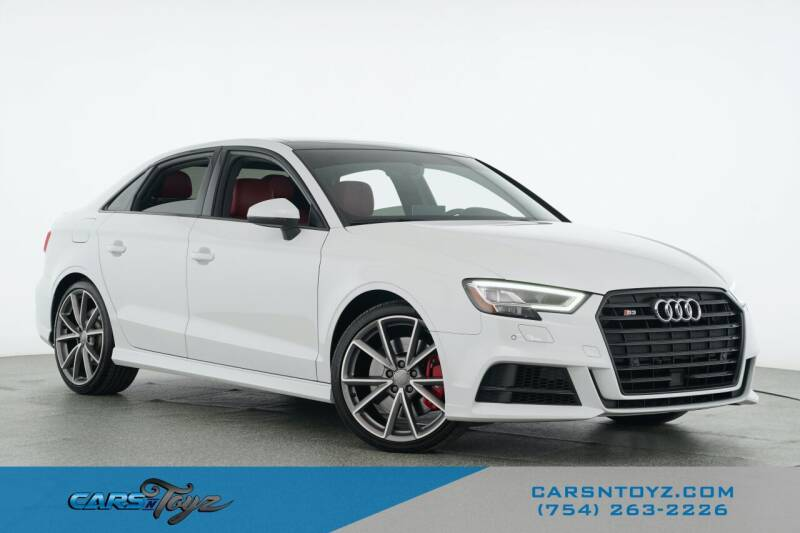 2018 Audi S3 for sale at JumboAutoGroup.com - Carsntoyz.com in Hollywood FL