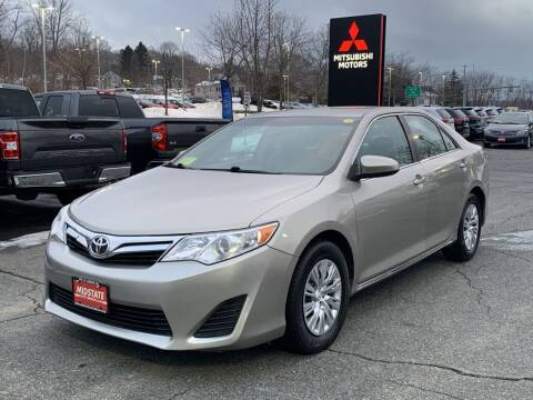 2013 Toyota Camry for sale at Midstate Auto Group in Auburn MA