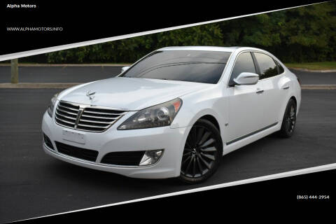 2014 Hyundai Equus for sale at Alpha Motors in Knoxville TN