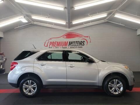 2013 Chevrolet Equinox for sale at Premium Motors in Villa Park IL