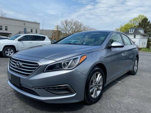 2015 Hyundai Sonata for sale at 1NCE DRIVEN in Easton PA