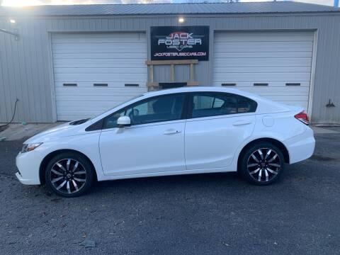2015 Honda Civic for sale at Jack Foster Used Cars LLC in Honea Path SC