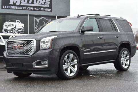 2016 GMC Yukon for sale at Landers Motors in Gresham OR