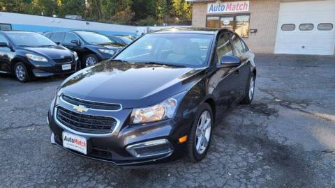 2015 Chevrolet Cruze for sale at Auto Match in Waterbury CT