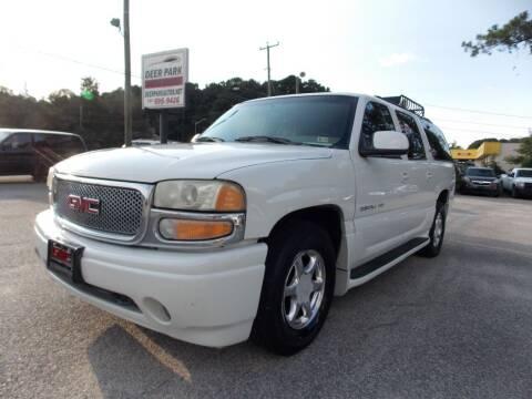 2001 GMC Yukon XL for sale at Deer Park Auto Sales Corp in Newport News VA