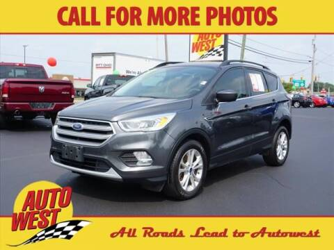 2017 Ford Escape for sale at Autowest of Plainwell in Plainwell MI