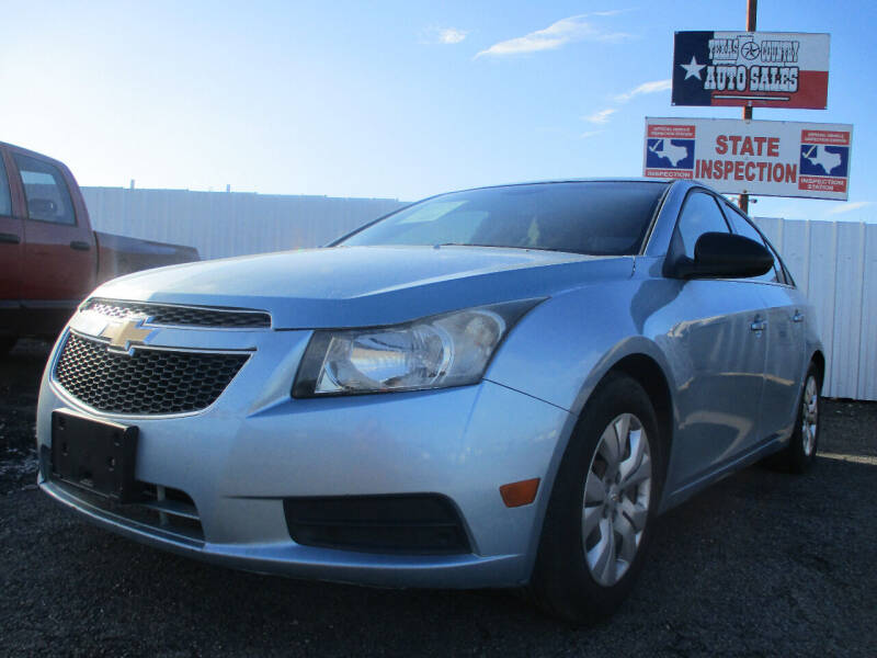 2012 Chevrolet Cruze for sale at Texas Country Auto Sales LLC in Austin TX