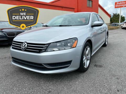 2012 Volkswagen Passat for sale at JC AUTO MARKET in Winter Park FL