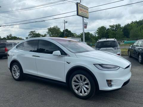2016 Tesla Model X for sale at MetroWest Auto Sales in Worcester MA