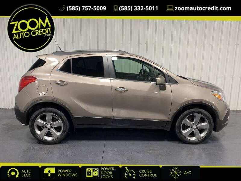 2013 Buick Encore for sale at ZoomAutoCredit.com in Elba NY