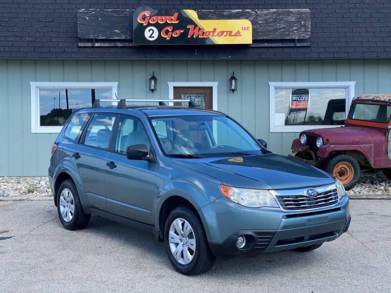 2009 Subaru Forester for sale at Good 2 Go Motors LLC in Adrian MI