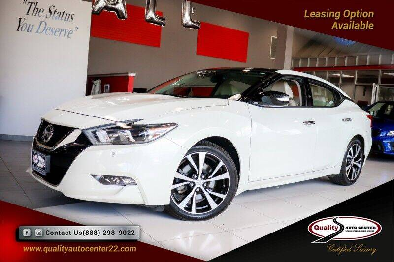 2018 Nissan Maxima for sale at Quality Auto Center of Springfield in Springfield NJ