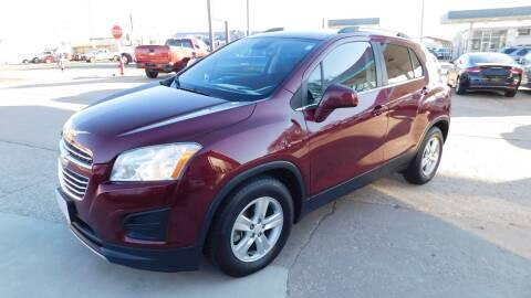 2016 Chevrolet Trax for sale at Mid Kansas Auto Sales in Pratt KS