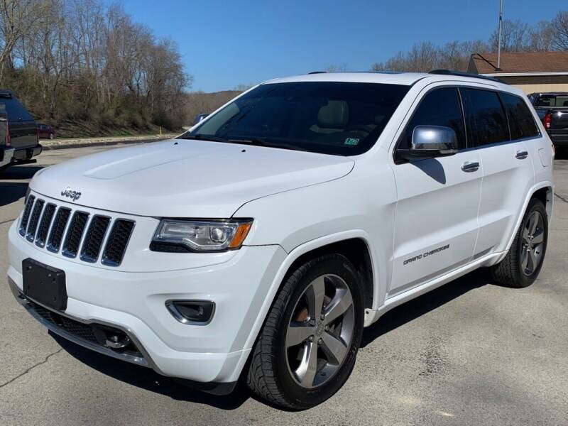 2015 Jeep Grand Cherokee for sale at Elite Motors in Uniontown PA