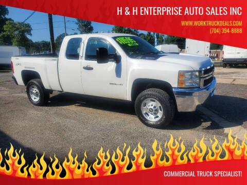 2012 Chevrolet Silverado 2500HD for sale at H & H Enterprise Auto Sales Inc in Charlotte NC