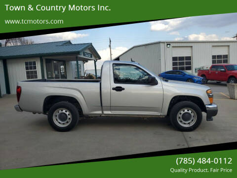2012 GMC Canyon for sale at Town & Country Motors Inc. in Meriden KS