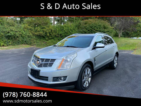 2012 Cadillac SRX for sale at S & D Auto Sales in Maynard MA