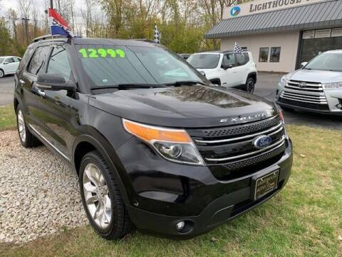 2012 Ford Explorer for sale at Lighthouse Auto Sales in Holland MI