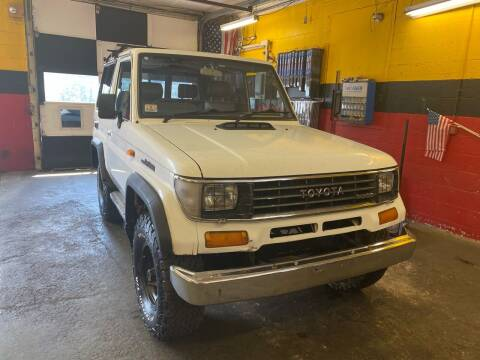 1990 Toyota Land Cruiser for sale at Milford Automall Sales and Service in Bellingham MA