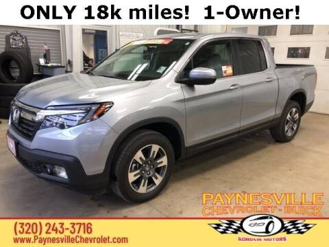 2017 Honda Ridgeline for sale at Paynesville Chevrolet - Buick in Paynesville MN
