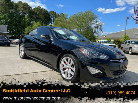 2013 Hyundai Genesis Coupe for sale at Smithfield Auto Center LLC in Smithfield NC