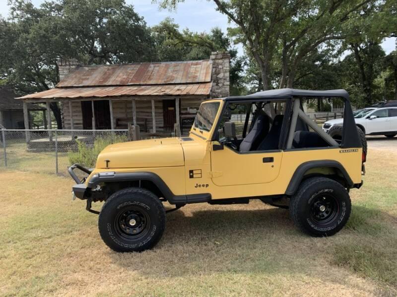 1991 Jeep Wrangler for sale at Village Motors Of Salado in Salado TX