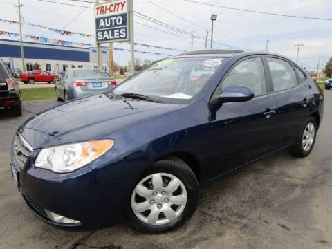 2009 Hyundai Elantra for sale at TRI CITY AUTO SALES LLC in Menasha WI