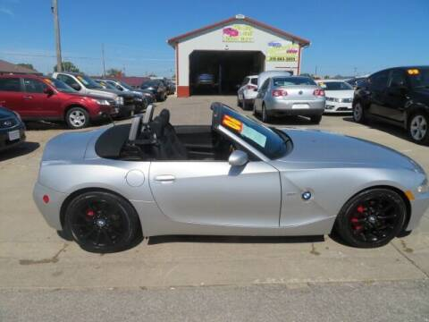 2006 BMW Z4 for sale at Jefferson St Motors in Waterloo IA