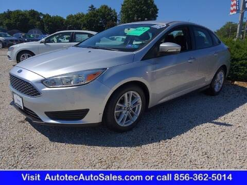 2016 Ford Focus for sale at Autotec Auto Sales in Vineland NJ
